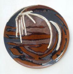 ceramica della serie: Brodo Primordiale-diam.cm45, 2015-Marilù Viviano