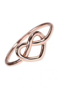 Celtic Heart knot ring