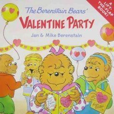 The Berenstain Bears' Valentine Party - a Lift-the-Flap Book Valentines Day Book, Kinder Valentines, Bear Valentines, Valentine Heart, Valentine Gifts, Valentinstag Party, Berenstain Bears, Thing 1, Preschool Books