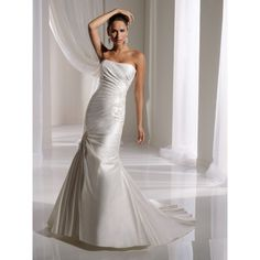Y2945A - Allanah. #Aline, #Strapless, #Ivory, #Empire, #Corset, #Wedding, #Dress, #Bridal. Only $355.99