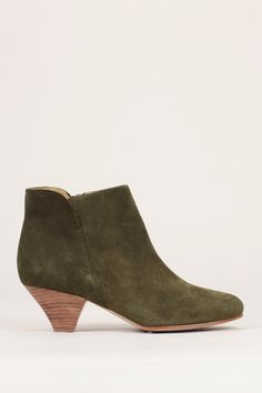 Bottines kaki cuir suède You Boots - Sessun