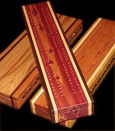 Handcrafted cribbage board | Cribbage Boards