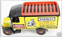 Stanley advertising truck with SW logo. These are new old stock and for sale Tools For Sale, Truck, Advertising, Logo, Logos, Logo Type, Trucks, Environmental Print