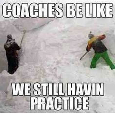 Baseball Memes and Quotes : coaches be like we still havin practice A collection of baseball memes, softball memes, famous memorable baseball quotes, and cute and funny baseball mom quotes. Funny Soccer Memes, Softball Memes, Baseball Memes, Baseball Socks, Sports Baseball, Funny Sports Quotes, Baseball Caps, Funny Volleyball Quotes, Volleyball Chants