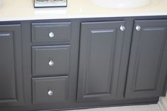 Add Elegance to Your Bathroom With Gorgeous Bathroom Vanities – Bathroom Vanity Tips Bathroom Vanity Chair, Painting Bathroom Cabinets, Oak Bathroom, Bathroom Vanity Makeover, Small Bathroom Vanities, Bathroom Vanity Cabinets, Single Bathroom Vanity, Simple Bathroom, Bathroom Furniture