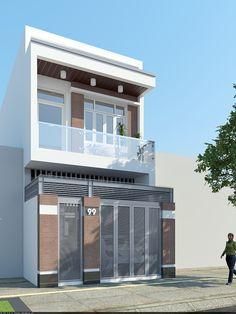 3 Storey House Design, House Front Design, Design Your Dream House, Studio Apartment Floor Plans, Duplex House Plans, Modern House Plans, Minimalist House Design, Modern House Design, Narrow House Designs