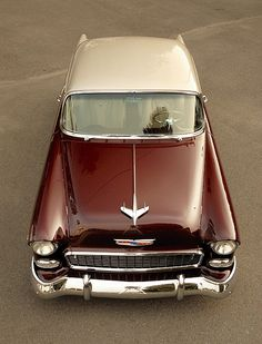 '55 Chevy. It is so pretty!!