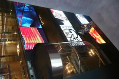 Milano Excelsior Shopping Mall - large LED displays
