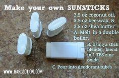 Homemade Sunstick