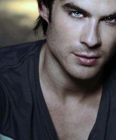 Damon Salvatore, Most Gorgeous Vampire with Beautiful Eyes; The Vampire Diaries