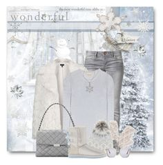 """""""wonderful Winter!"""" by brendariley-1 ❤ liked on Polyvore featuring ONLY, Topshop, Michael Kors, STELLA McCARTNEY, Accessorize, Mint Velvet, UGG Australia, Carmella and Lafonn"""