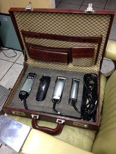 Custom barber case by Dave Van Ross