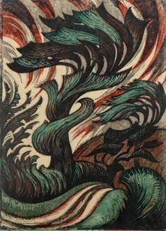 Modern Printmakers: Sybil Andrews: the rural year
