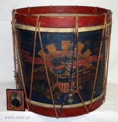 Ohio Civil War drum.