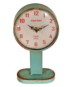 Black Vintage Table Clock | zulily