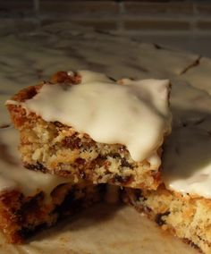 Date Slice - If you like the flavour of dates and coconut, then this slice is for you. Moreishly moist and datey cake, beneath a tangy lemon icing. What's not to like!