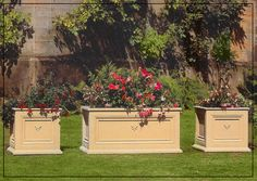 Kensington Box and Trough Planters Trough Planters, Garden Fountains, Architectural Elements, Vases, Architecture, Box, Arquitetura, Snare Drum, Diy Garden Fountains