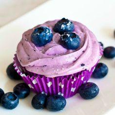 Lemon Drop: Gluten-Free Blueberry Cupcakes