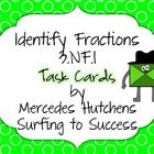 FREE Identify Fraction Task Cards Common Core Standard 3.NF.1 These task cards can used as an early finisher, as a scoot game, or a center.