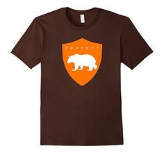Amazon.com: Protect Grizzly Bears Endangered Species Awareness T-Shirt: Clothing