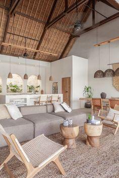 Earthy Home Decor, Natural Home Decor, Nature Decor, Natural Modern Interior, Natural Homes, Living Room Natural Decor, Bali Decor, Bohemian Beach Decor, Modern Bohemian