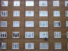 Typical London council flats