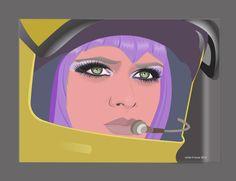 Lt. G. Ellis Moonbase UFO tv series by vhtovar