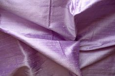 Silk Dupioni in Pale Lavender  - Extra wide 53 inches Half Yard - D 139 on Etsy, $10.00