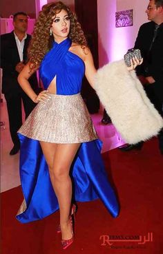 75df0648e Myriam Fares, Special Dresses, Fashion Dresses, Stars, Hair Styles,  Beautiful,