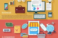 Business and E-commerce by robuart on Creative Market