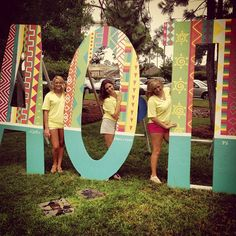 AOII letters
