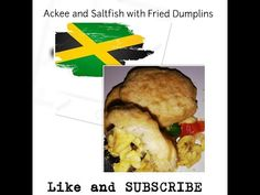 This morning I prepared Ackee and Saltfish with Fried Dumplins for breakfast. It is Jamaica's National Dish. its quick, easy and delicious . Jamaican Cuisine, Jamaican Recipes, Creole Kitchen, Jamaica National, Fried Dumplings, National Dish, Make It Yourself, Dishes, Eat