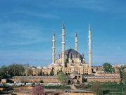 Discover Islamic Art – Virtual Museum.Mosque of Selim II. Edirne, Turkey. Sinan (architect). 1568–1575 C.E. Brick and stone.