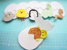 Малыши развивающие игрушки из фетра выкройки