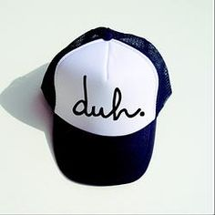 Childrens  duh  Trucker Hat Rags To Raches 17c34106e1d