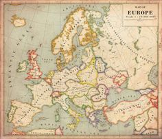 Europe (alternative history version). | 22 Incredible Maps Of Imaginary Places