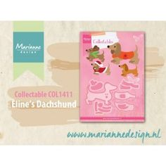 Marianne Design Collectable Dackel