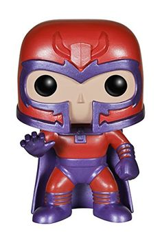 Funko POP Marvel: Classic X-Men - Magneto Action Figure -- One of the most complex and memorable comic book villains of all time. I. Love. Magneto!