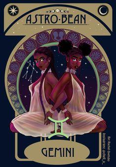 Moon in Gemini ♓️🖤 Gemini Art, Gemini Woman, Zodiac Signs Gemini, Zodiac Art, June Gemini, Gemini Horoscope, Gemini Life, Art Black Love, Black Girl Art