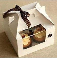 cake-cookie-biscuit-box-with-handle-Muffin-Box-cup-baking-packaging-cupcake-box