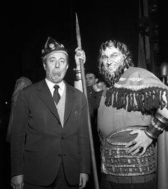 "Nicola Benois & Nicola Rossi Lemeni - ""David"", 1955 http://www.archiviolascala.org/"