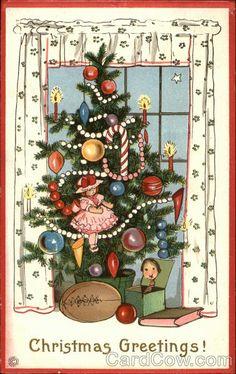 Christmas Greetings! - Christmas Tree and Toys
