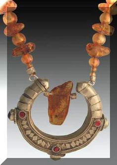This is a great antique bracelet from Afghanistan. The Baltic amber has wonderful color and texture.