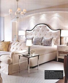 Elegant Lighting and #Bedroom