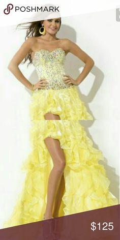 Prom dresses Yellow Rachel Allan Dresses Prom