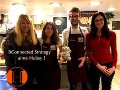 BConnected Strategy avec ML Strategist étaient chez Hubsy à Paris : café & coworking !