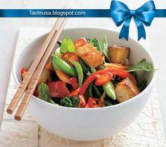 Vegetable and tofu stir fry recipe