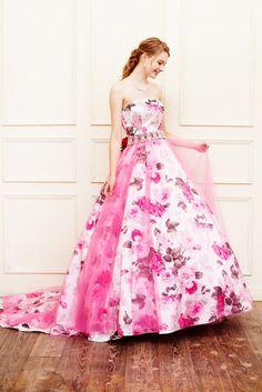 no.23773 - COLOR   新宿でウェディングドレスをレンタルするならブライダルサロンHANA