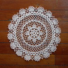 Doily 4403 8 Point Star by American Thread Company view Leanda's Vintage Doily No.3 by Leanda Flickr