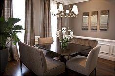 Transitional Dining Room - Dining Rooms - Rate My Space - HGTV | POPSUGAR Social